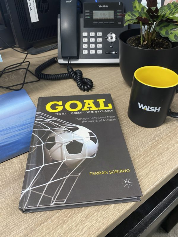 Goal – The Ball Doesn't Go In By Chance by Ferran Soriano