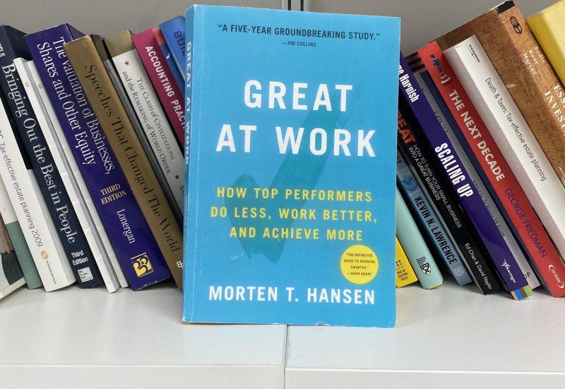 Great At Work – Morten Hansen