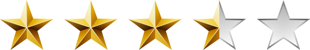 Three And Half Stars