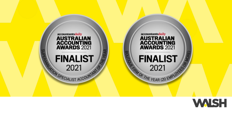Finalists for the Australian Accounting Awards 2021
