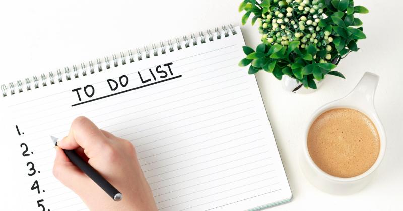 Productivity Tips - To Do List