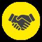 Walsh Handshake Icon